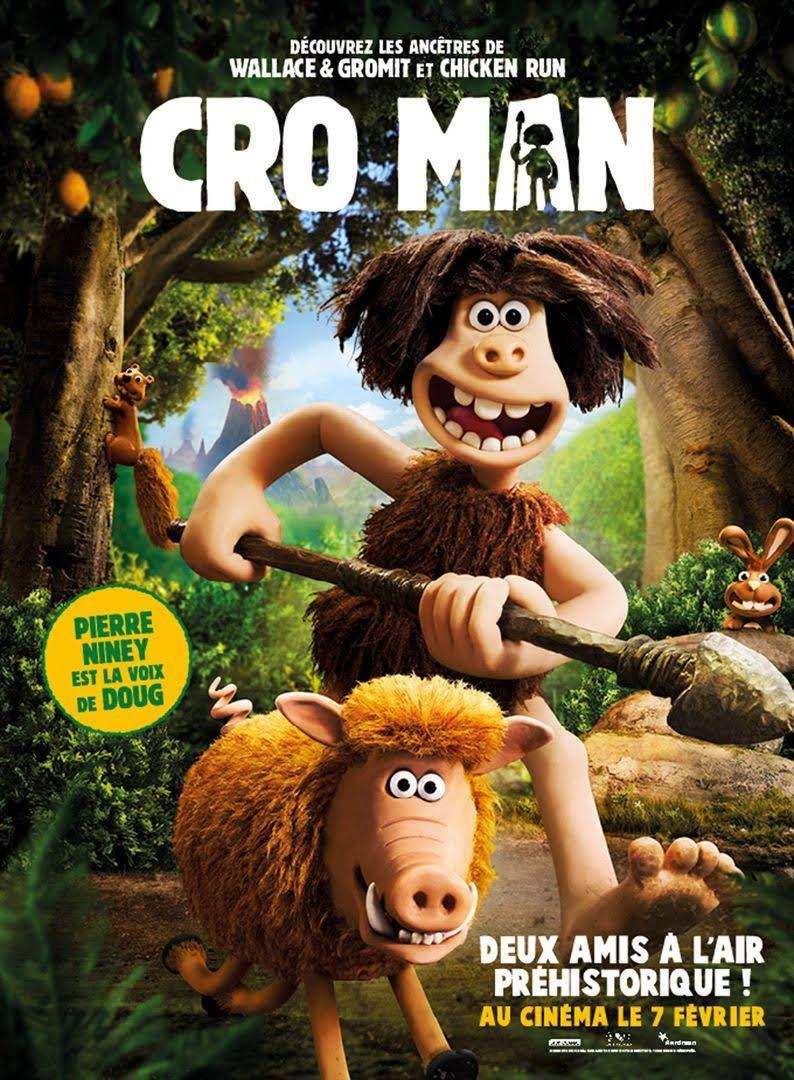 Sortie ciné 7 février 2018 : Film Cro Man de Nick Park