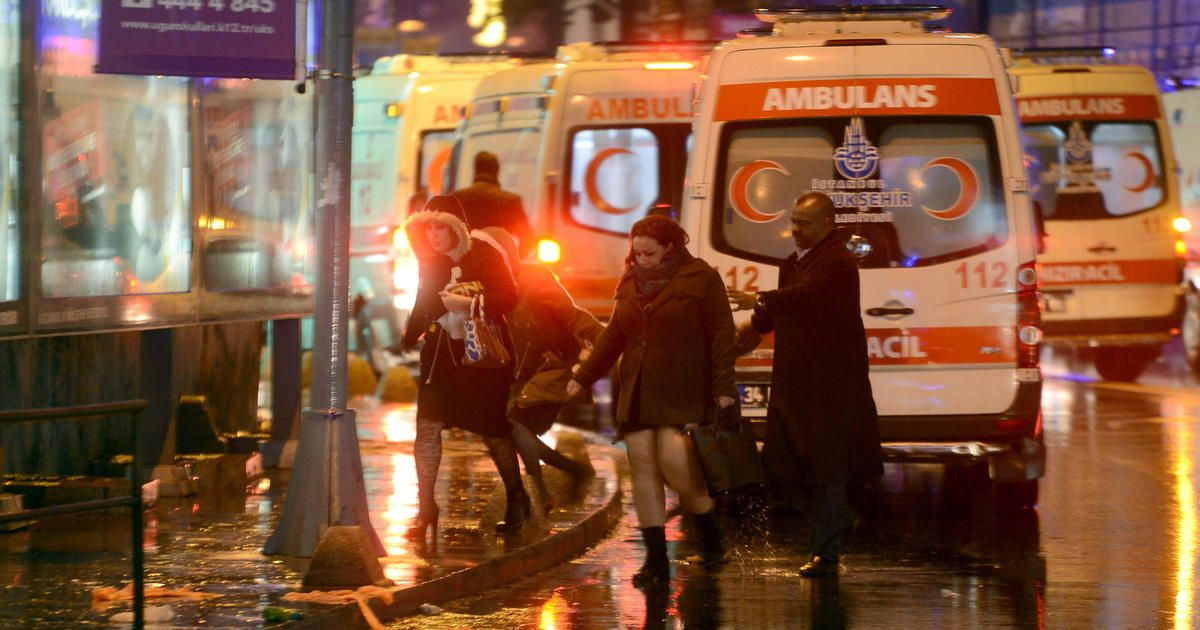 Istanbul Reina nightclub attack on New Year's Eve: Dozens killed, scores wounded, Istanbul governor says - CBS News