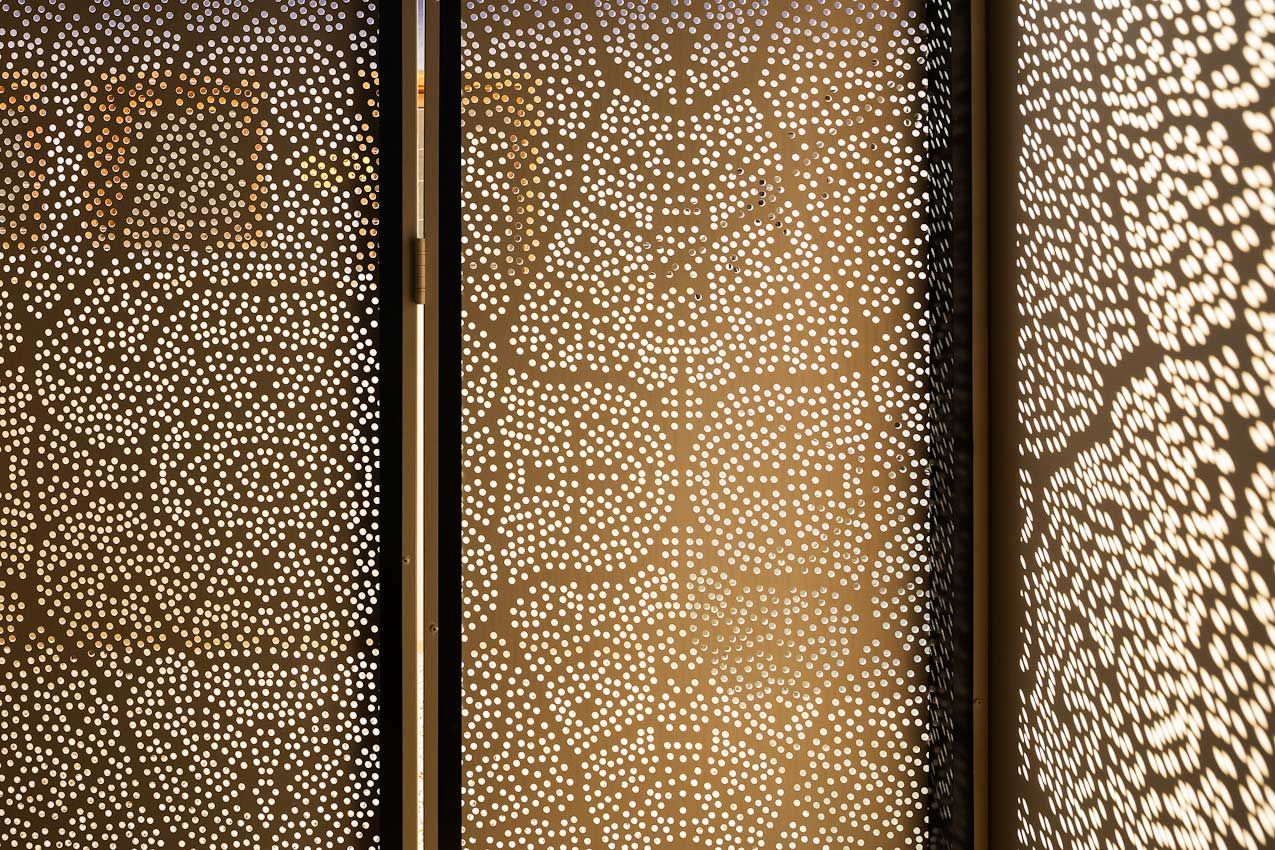 perforated metal screen door. Stories On Design: Perfectly Perforated Metal Screen Door