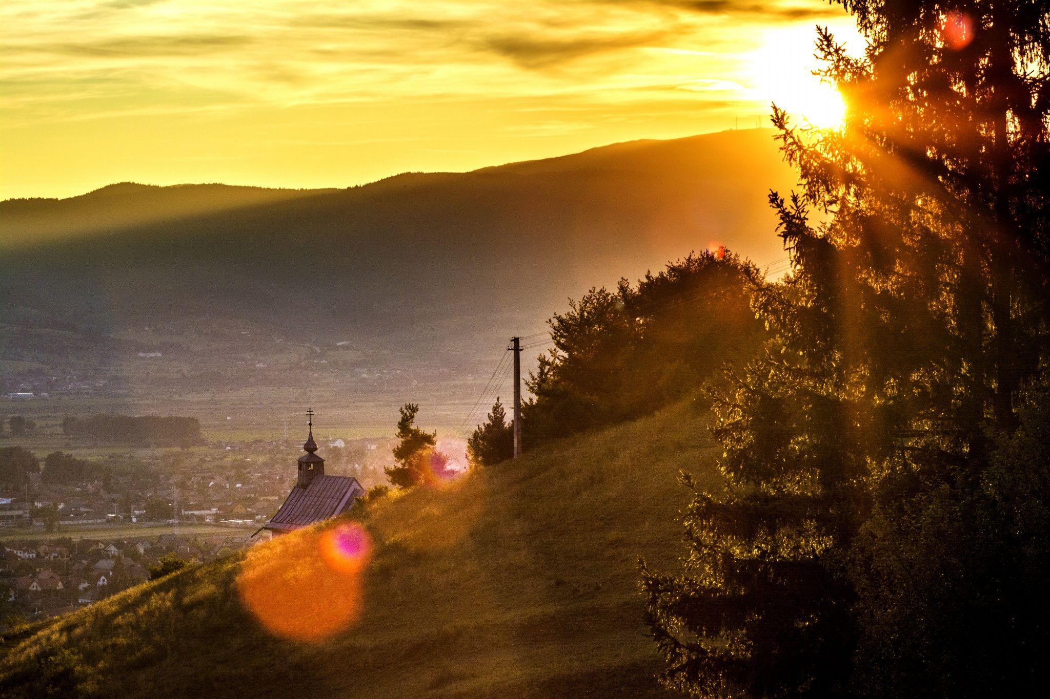 Csíksomlyó sunset by Dénes Szőcs on 500px