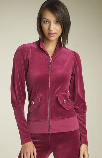 034c8a62827e Juicy Couture Classic Velour Tracksuit Ruby  75.62