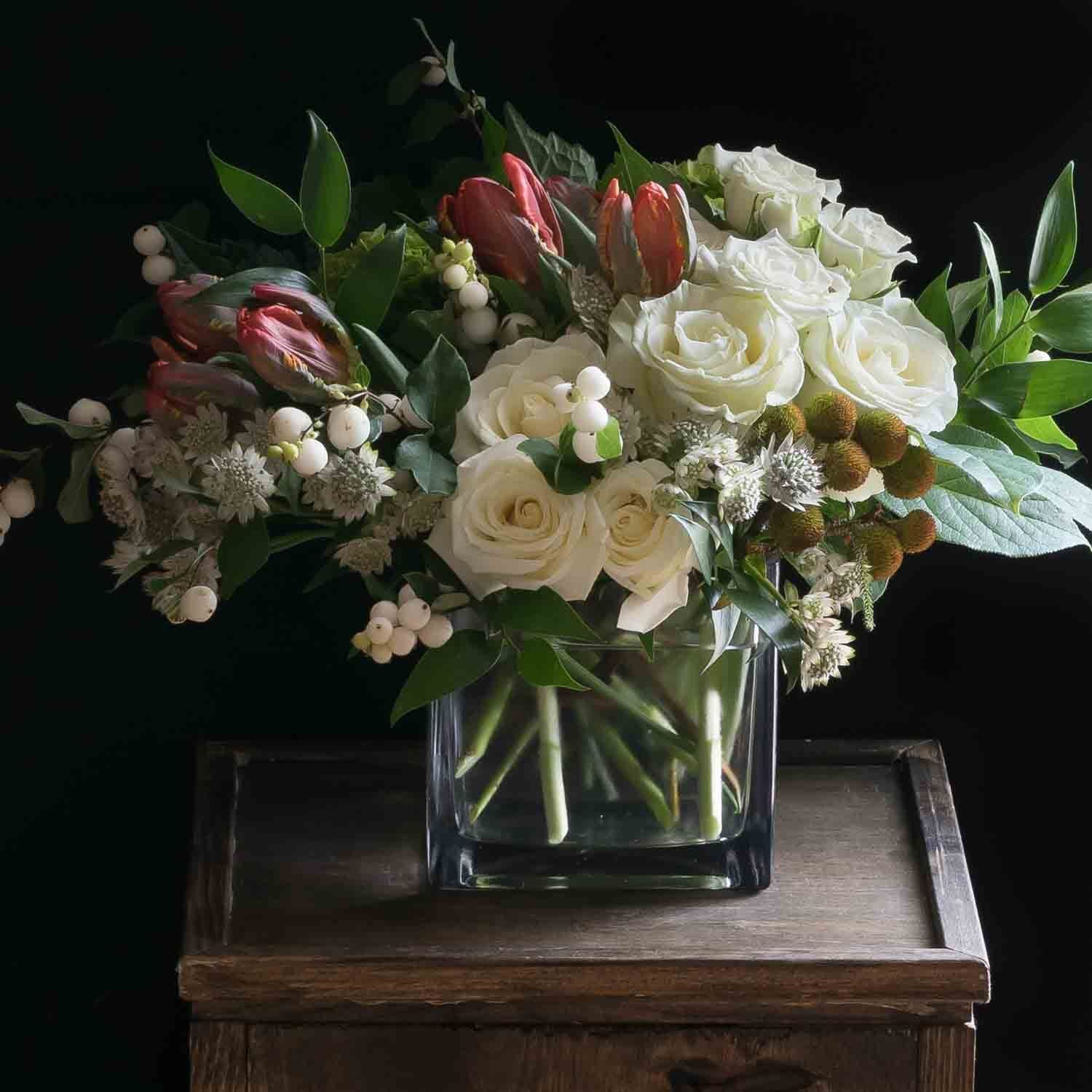 White Spell Flower Delivery And Floral Arrangement