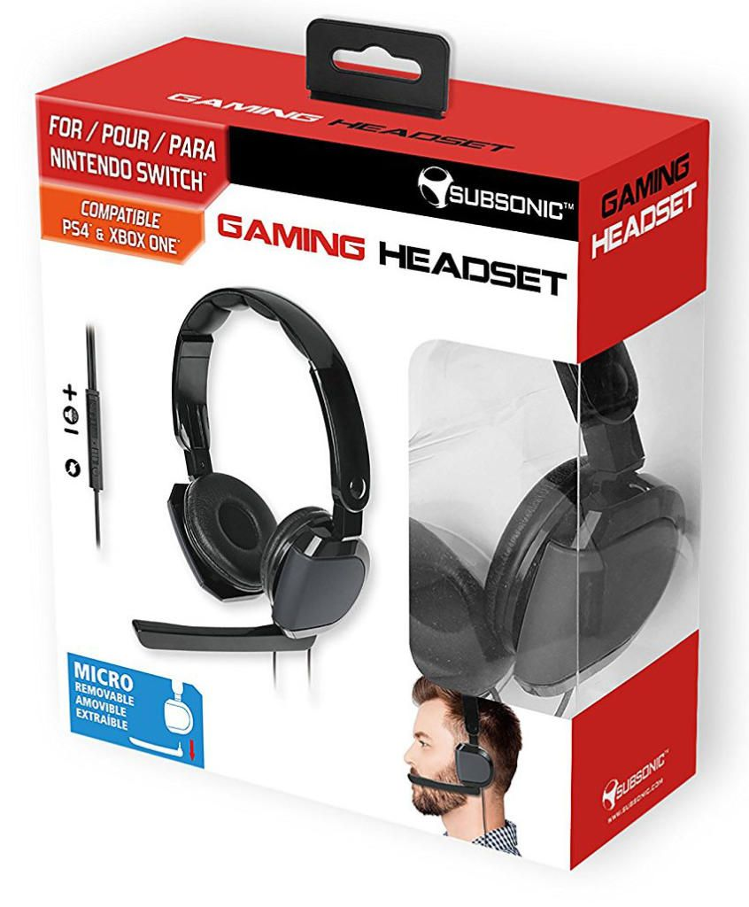 quality well known presenting Casque Gaming Subsonic - PS4 - Xbox One - Switch - Acheter ...