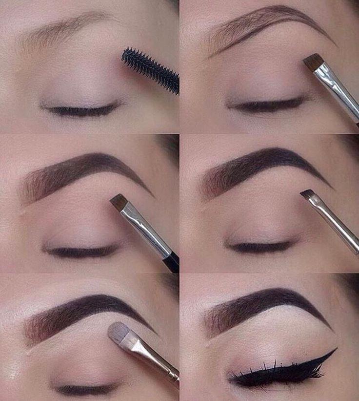 Easy Step-by-step Eyebrows Tutorial!!! #easy #Eyebrows # ...