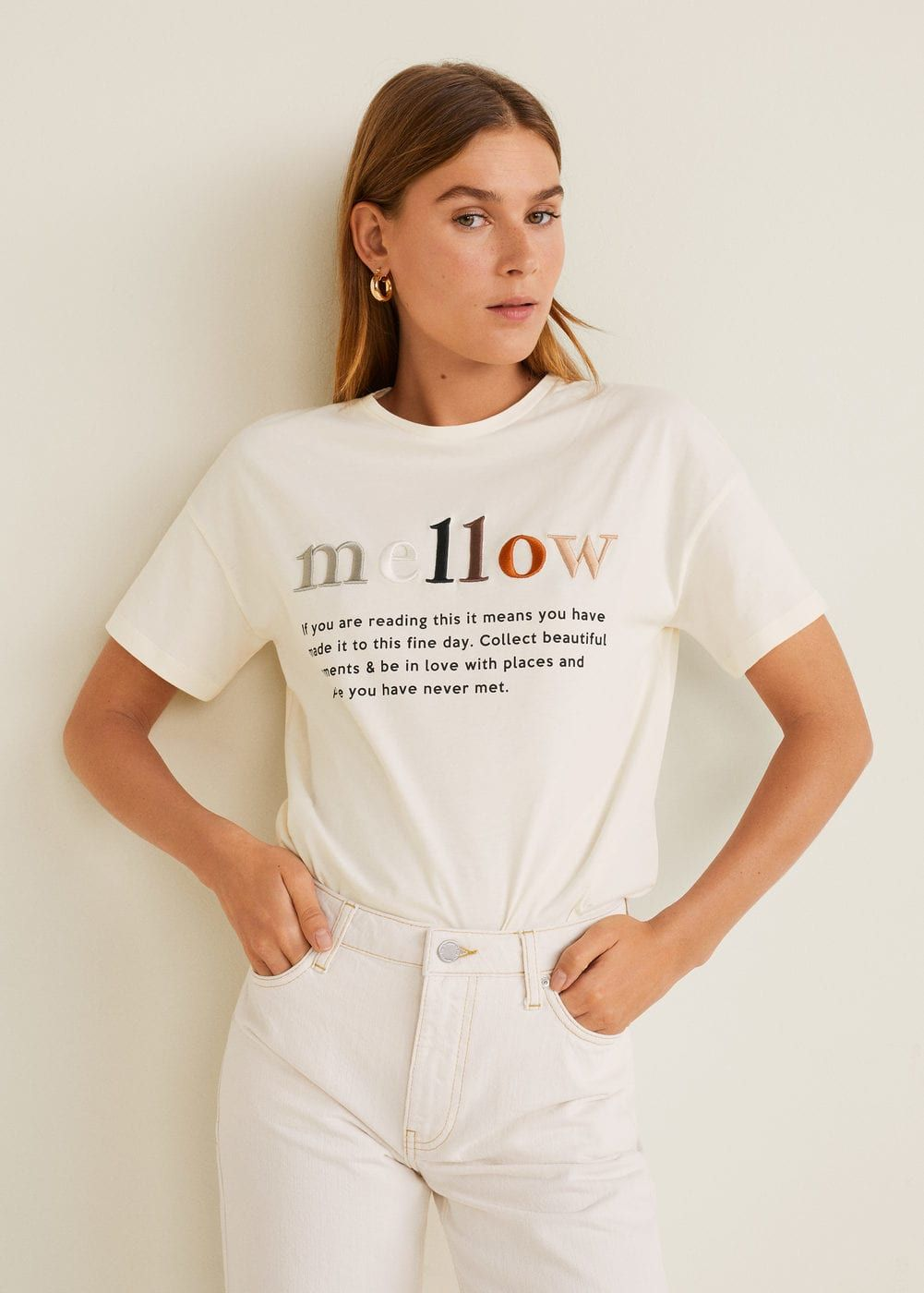 01a1cd659beb Message cotton t-shirt - Women in 2019 | 2019 graphic inspo | Women ...