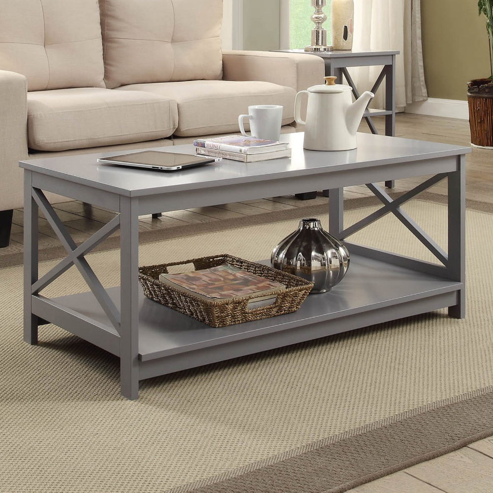 Convenience Concepts Oxford Coffee Table Walmart Com Coffee Table Rectangle Coffee Table Grey Coffee Table [ 1000 x 1000 Pixel ]