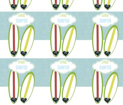 Little Surfer - sky fabric by drapestudio on Spoonflower - custom fabric - http://www.spoonflower.com/designs/4123316