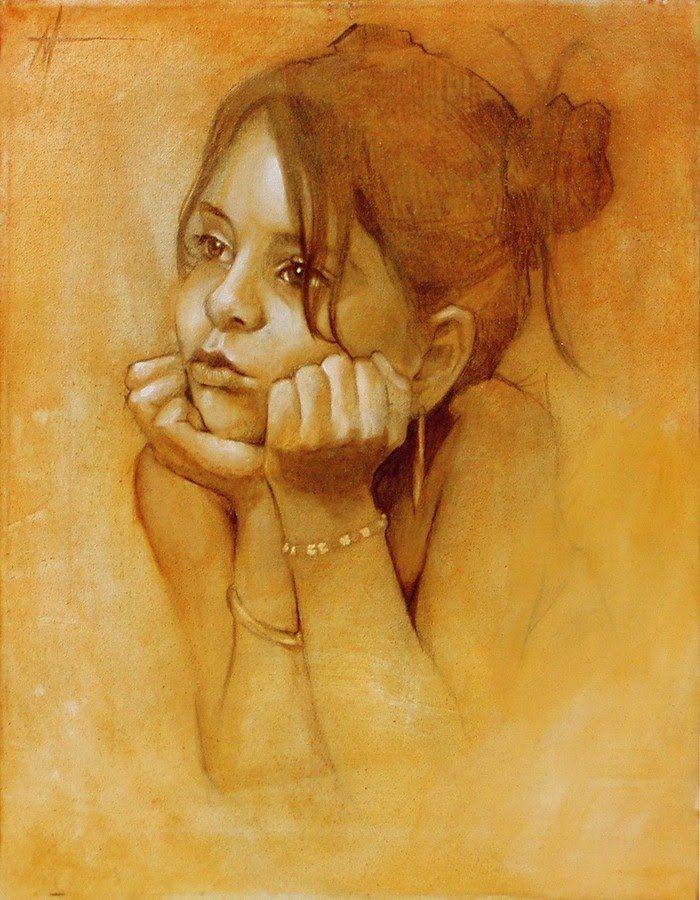 кораблях эмоции людей в картинах художников его