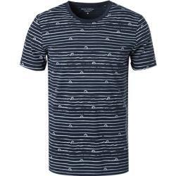 Photo of Marc O'Polo Herren T-Shirts, Shaped Fit, Baumwolle, navy-weiß gestreift blau Marc O'Polo