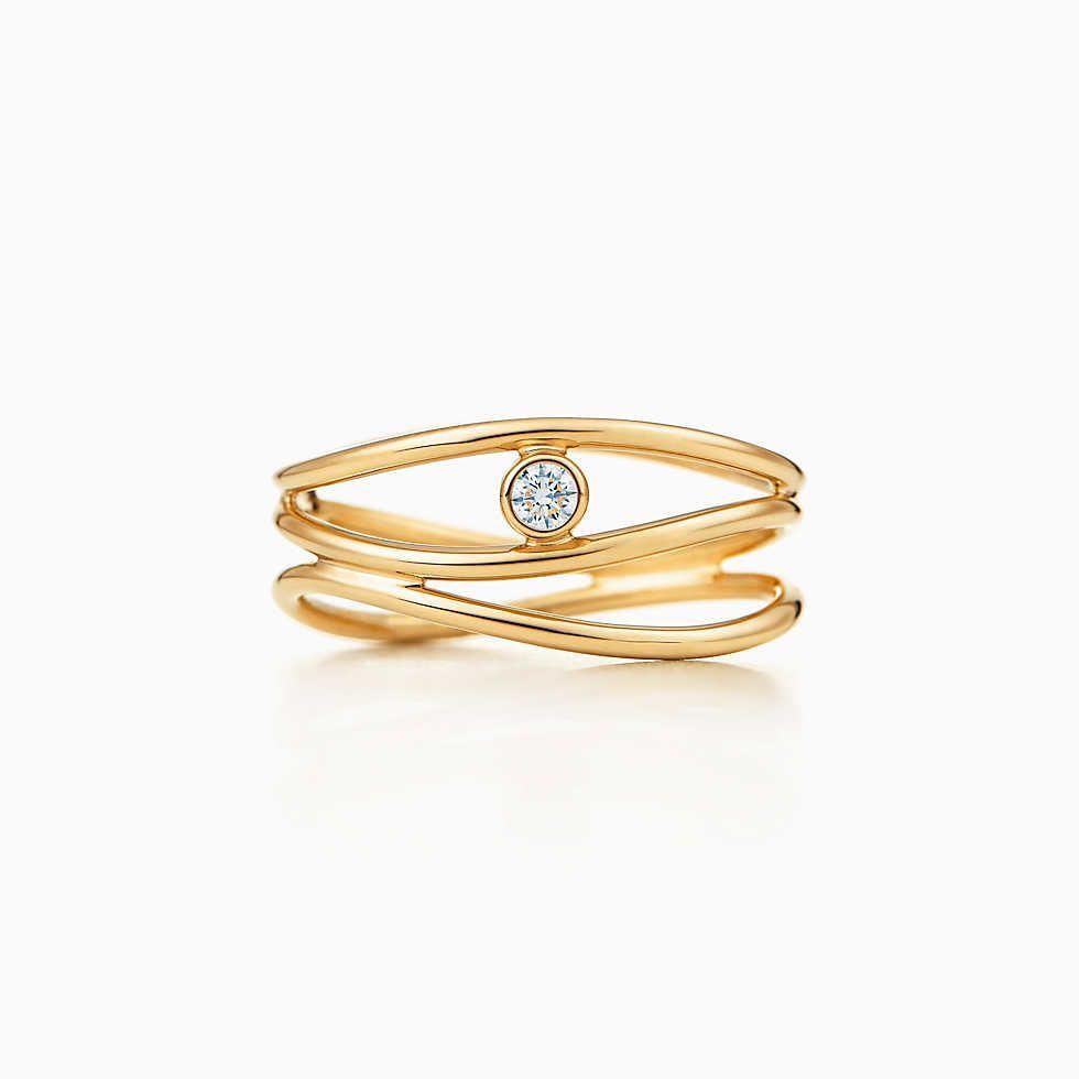 Tiffany somersetnarrow ring jewels pinterest k gold