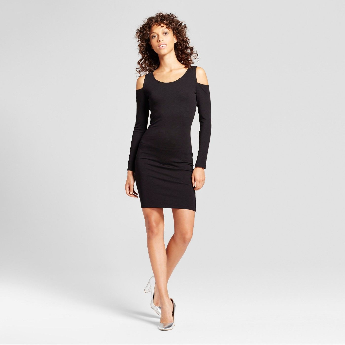 Gothic Fashion At Target Yes You Can Shop Goth At Target Bodycon Dress Cold Shoulder Bodycon Dresses [ 1400 x 1400 Pixel ]