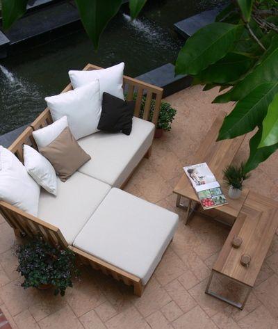 Behind The Curtains Modern Indoor Outdoor Teak Furniture Modern Garden Furniture Modern Patio Furniture Teak Outdoor