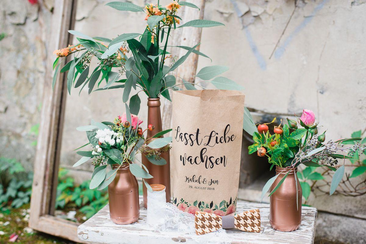 Copper Boho Love – lässige Hochzeitsinspirationen