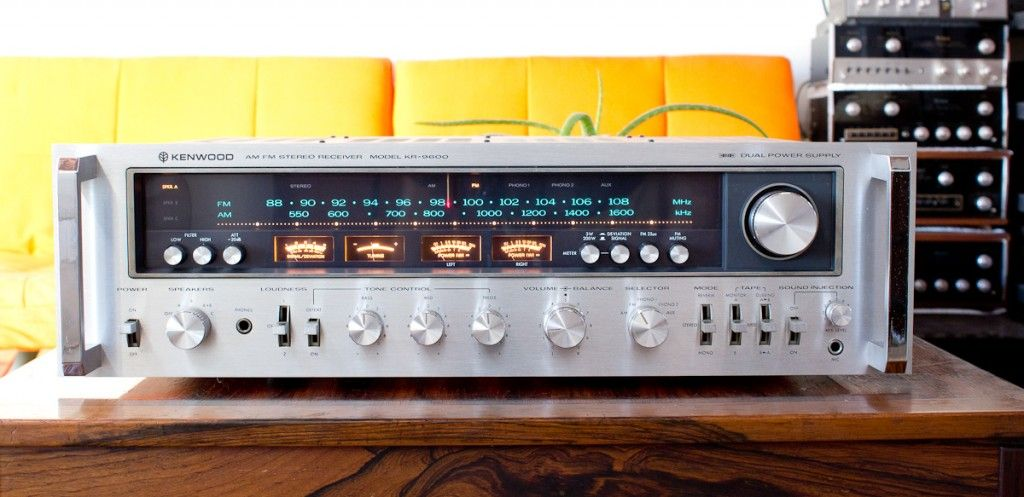 Kenwood KR-9600 One of the monster stack | Vintage Stereo