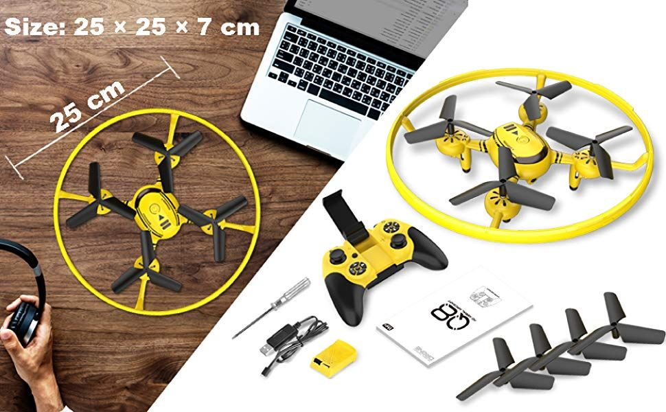 Q8 FPV Drone with HD Camera and Night Light,RC Drones