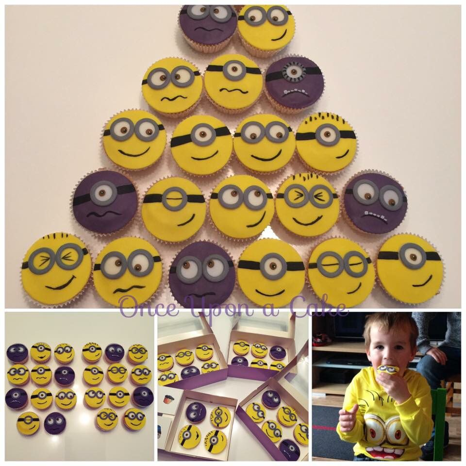 Hihi and again  we just love the minion cupcakes !
