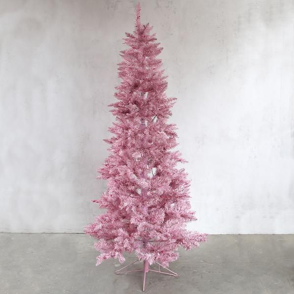 Pink Tinsel Tree With Lights 2 Sizes Available Rachel Ashwell Shabby Chic Couture