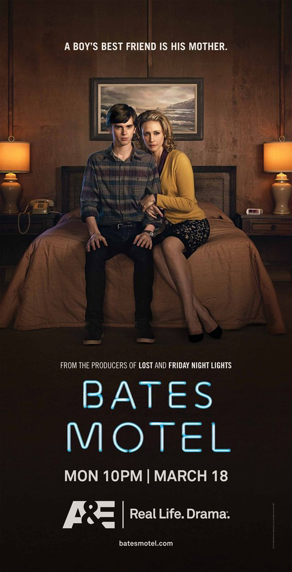 Bates Motel...need to remember to watch this...since it\'s Taylor\'s ...