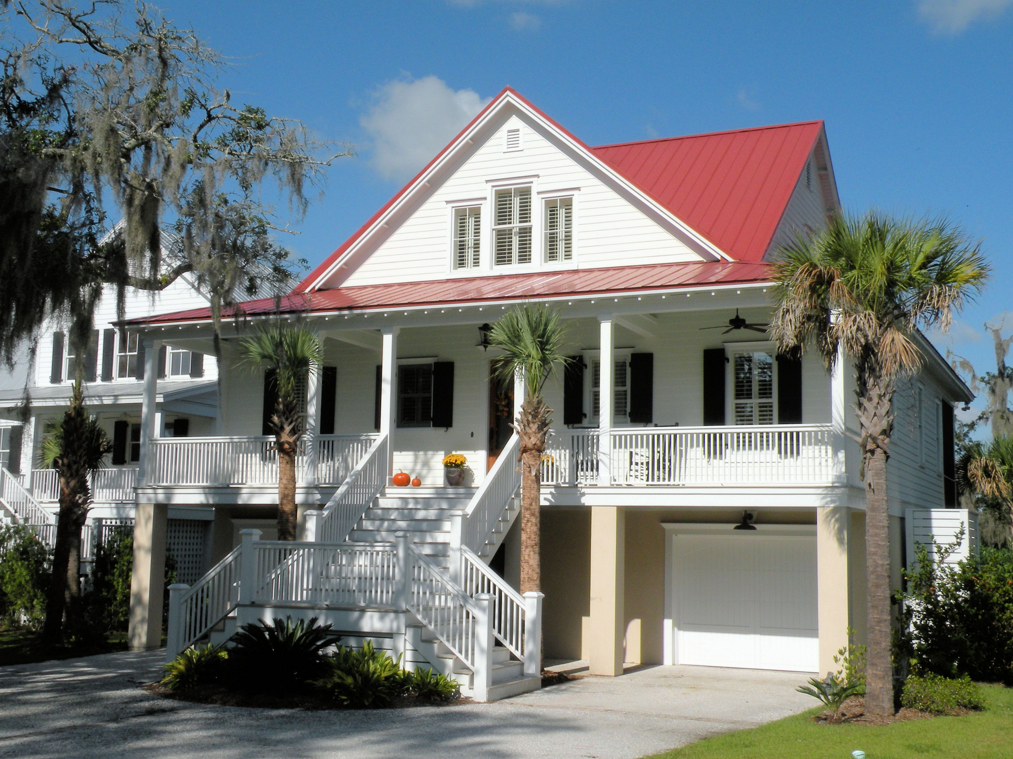 Classic Low Country Home Plan Low Country Homes Country House Plans Coastal House Plans