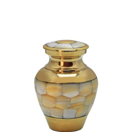 Decorative Cremation Urns Unique Cremation Urn Mother Of Pearl Keepsake 3 Tall * This Is An Amazon Design Decoration