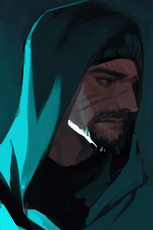 Картинки по запросу gabriel reyes art | Overwatch reaper ...