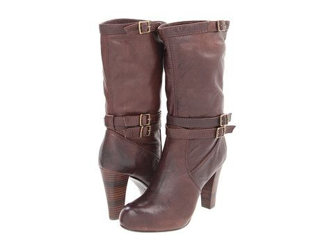Frye Miranda Slouch Dark Brown Soft Vintage Leather - Zappos.com Free Shipping BOTH Ways