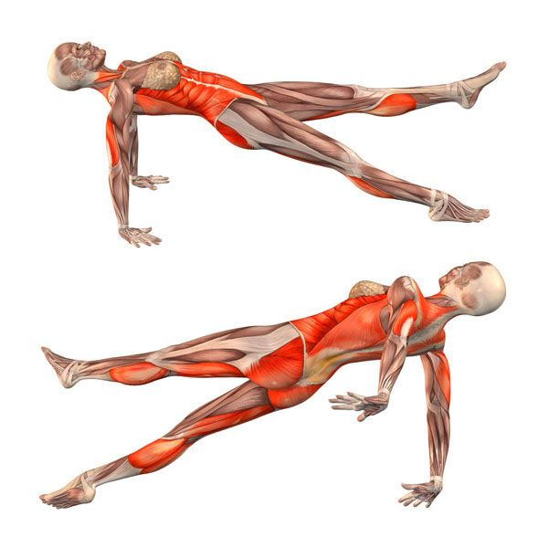 Upward plank pose with left leg up - Purvottanasana left - Yoga ...