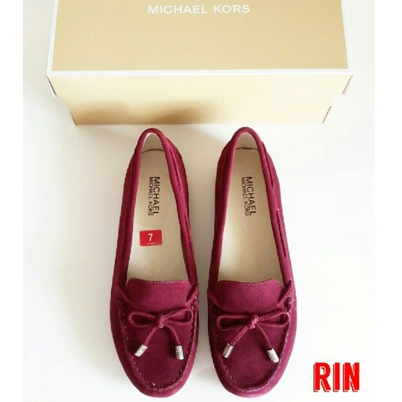 5295a37a7de NEW MICHAEL KORS DAISY MOC MERLOT FLAT SHOES Brand new with box   gift  receipt. Material suede. Color merlot MICHAEL Michael Kors Shoes Flats    Loafers