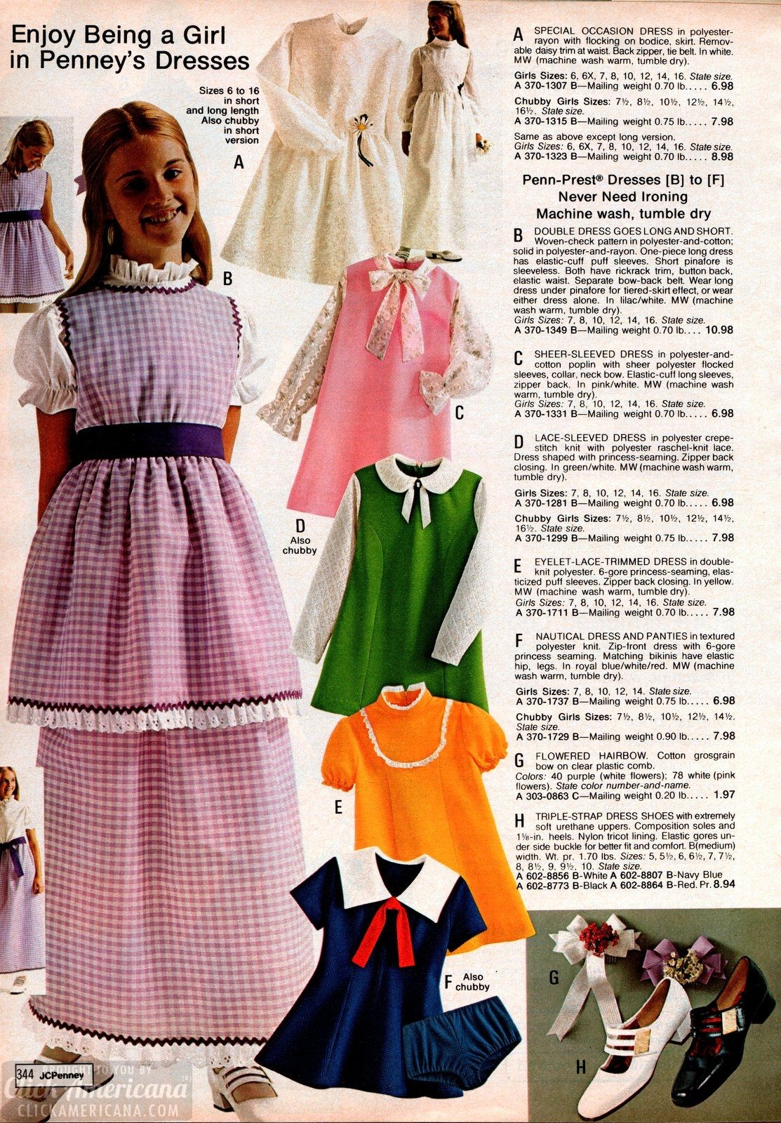 5a82f955b2053  70s clothes for girls from the 1973 JC Penney catalog at Click Americana -   70s  seventies  70sfashion  clothesforgirls  70sgirls  vintagefashion ...