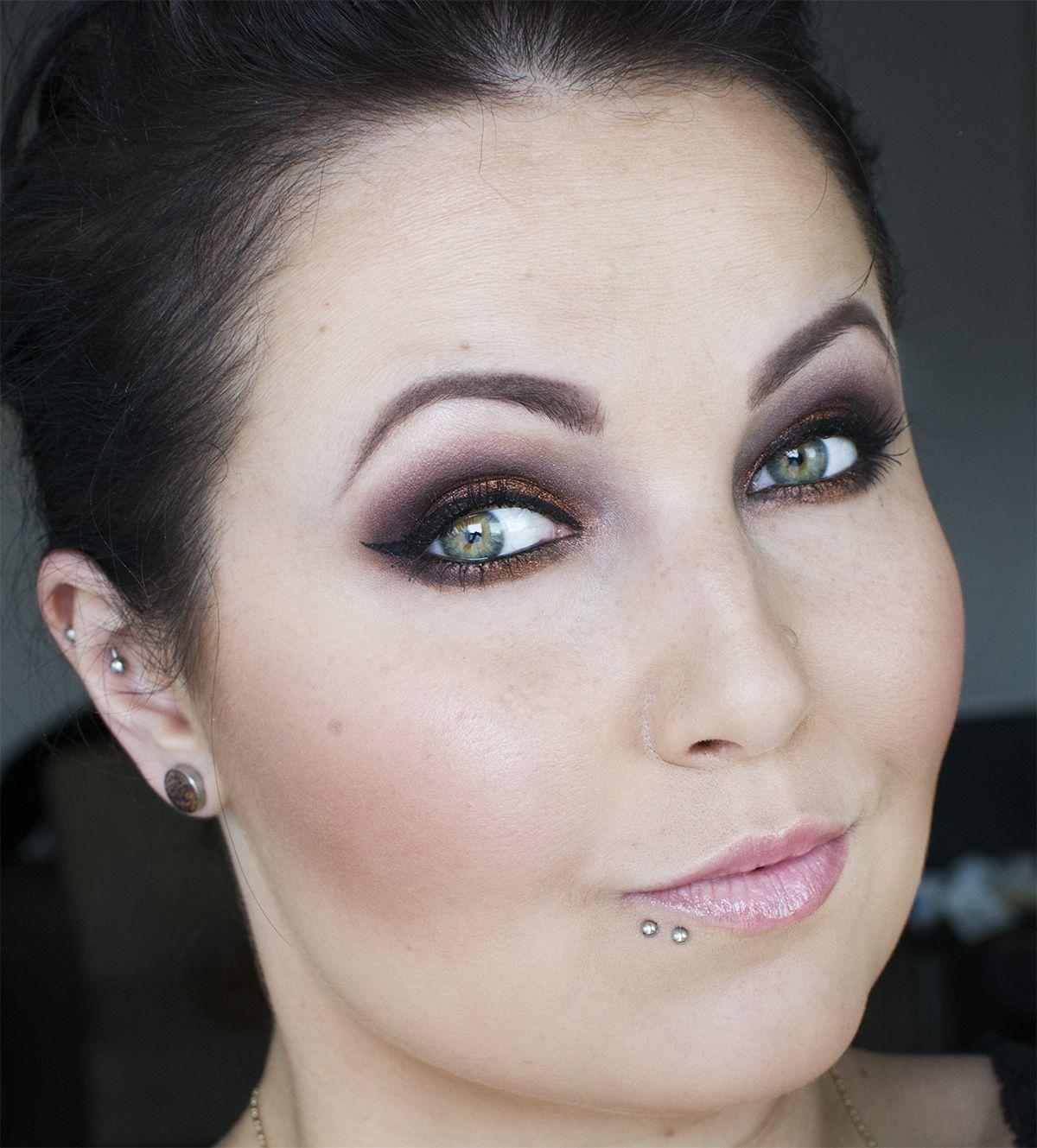 Makeup Geek Vegas Lights wieczorowy makijaż Makeup