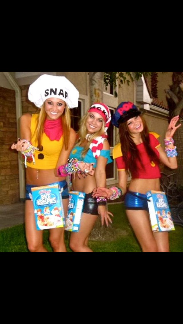 Halloween Group Costume or Rave Group Outfit -- snap crackle and POP -- #diy #dressup #funny  sc 1 st  Pinterest & Halloween Group Costume or Rave Group Outfit -- snap crackle and ...