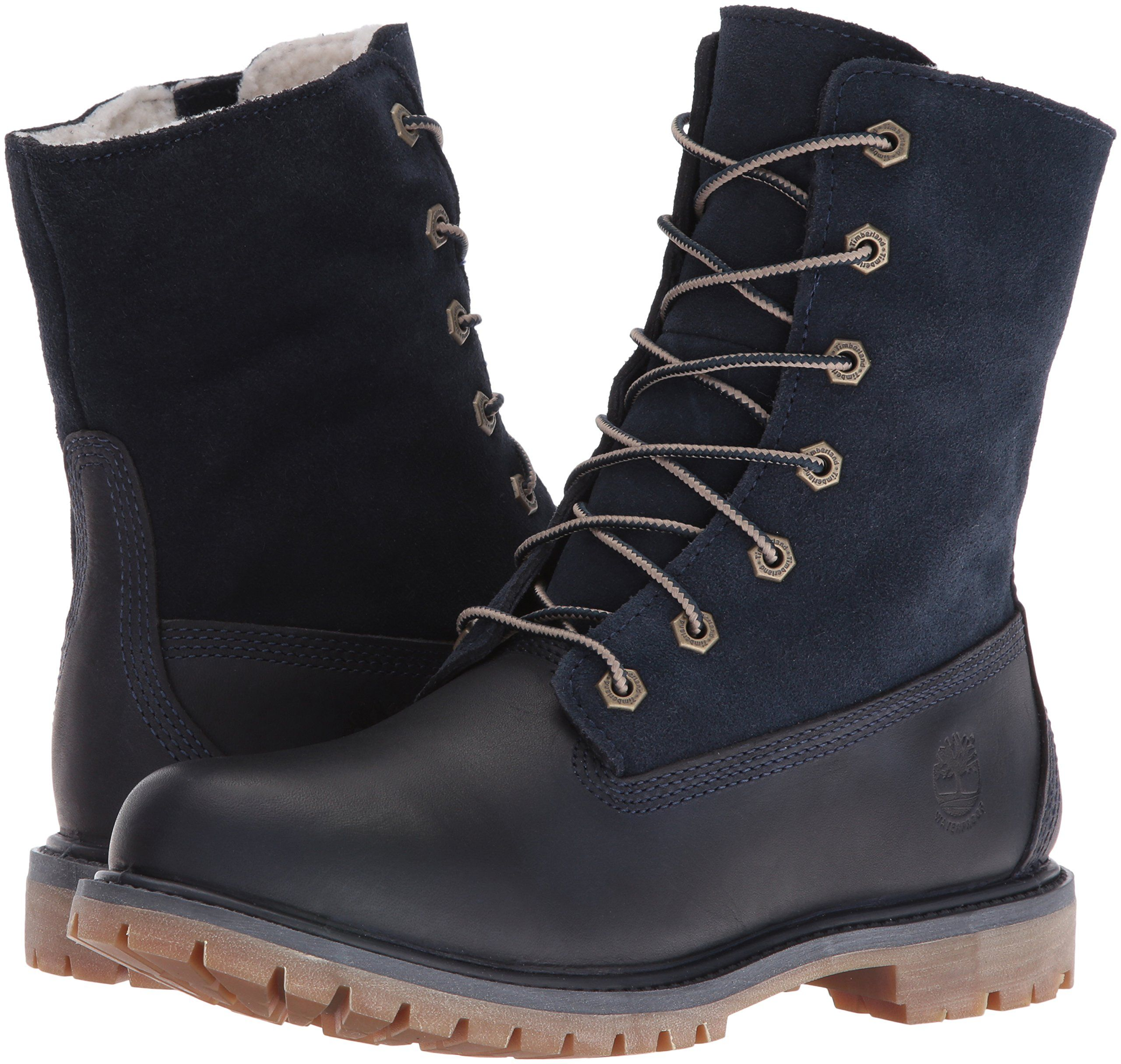 100% genuine wholesale outlet new collection Timberland Womens Authentics Teddy Fleece WP FoldDown Boot ...