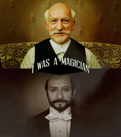 Ben Kingsley as George Melies in Hugo | Hugo movie, George ...