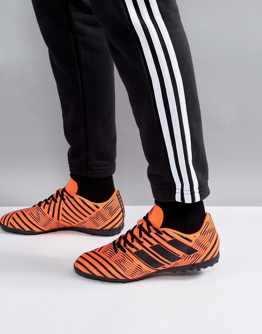 3cb3920ef2ce adidas Soccer Nemeziz 17.4 Astro Turf Sneakers In Orange S76979 - Oran