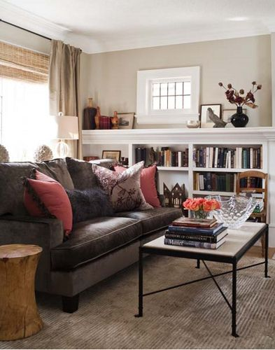 Warm Cozy Living Room Brown Couch Living Room Brown Sofa Living Room Brown Living Room