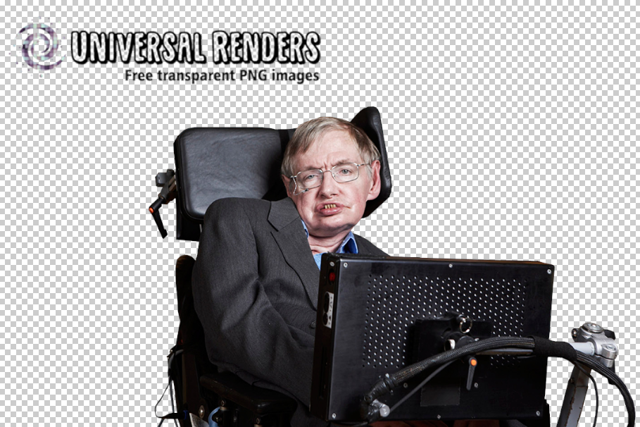 Stephen Hawking Free Transparent Background Image Universalrenders Com Stephen Hawking Image Background Images