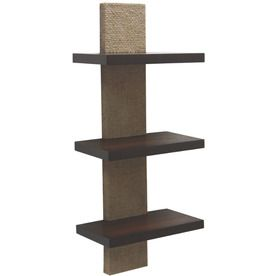 High Quality Style Selections 9.5 In Wood Wall Mounted Shelving Pictures Gallery