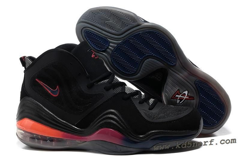 factory price 95451 fab68 Nike Air Penny 5 Phoenix Suns Black - Penny Hardaway Shoes 2013