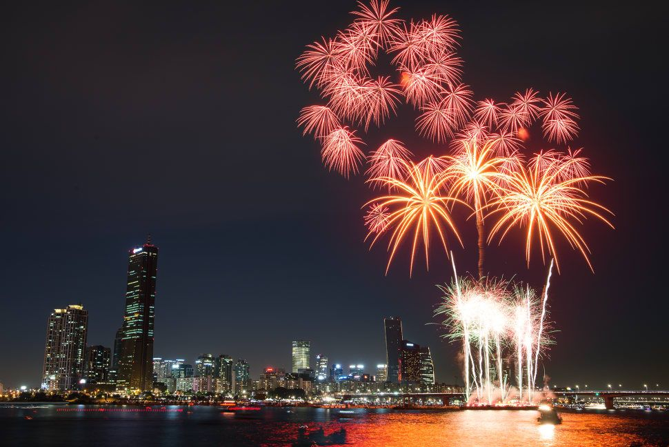 Seoul International Fireworks Festival 2019 - Dates & Map | Fireworks festival, New years eve fireworks, Fireworks