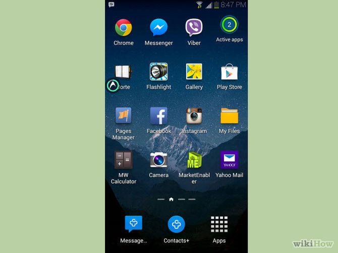 Close Apps on a Samsung Galaxy App, Samsung galaxy, Turn off