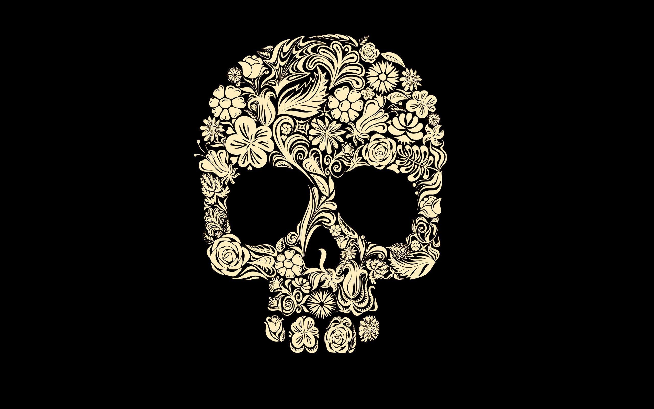 599 Skull Wallpapers Skull Backgrounds Sugar Skull Tattoos Skull Wallpaper Skull
