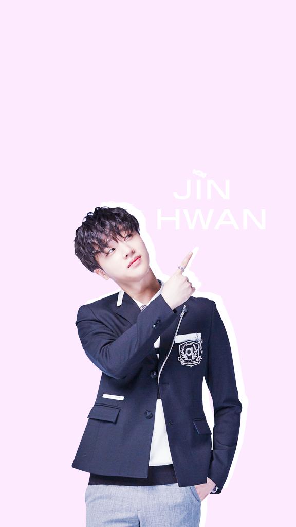 Jinhwan Wallpaper Wink Gif Selebritas Orang Ikon