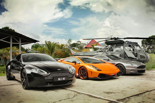 My Other Car Is A Helicopter American Dream Cool Cars Car