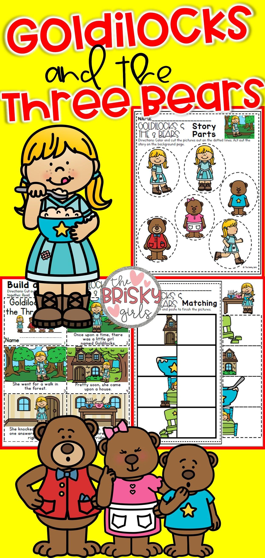Fairy Tales Kindergarten Goldilocks And The Three Bears