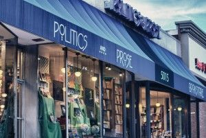 Politics & Prose--one of our favorite independent bookstores in DC