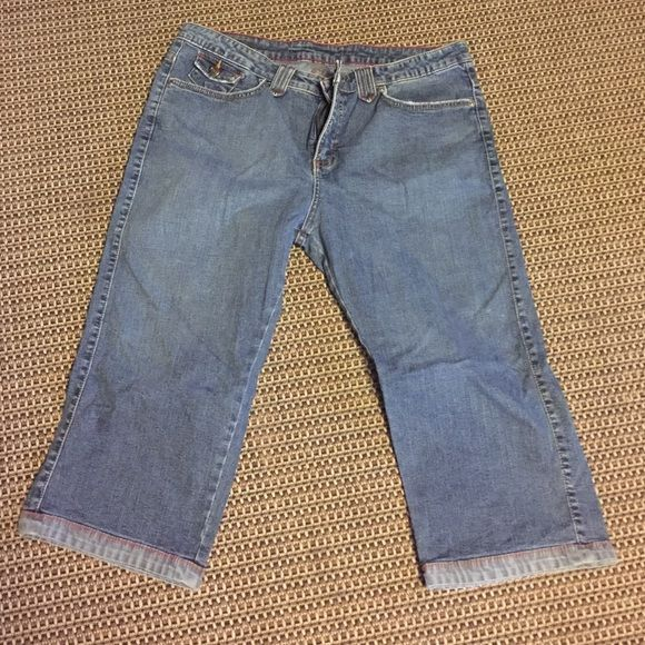 Jean capris   Lee jeans, Capri and Pants