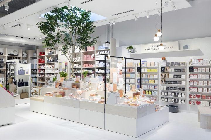 Kikki K Global Store Concept By Dalziel Pow Retail Design Blog Store Interiors Pharmacy Design Stationery Store Design
