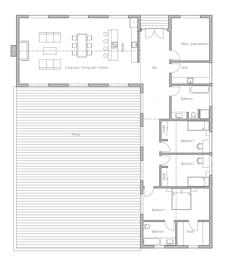 House Design Small House Ch259 10 Container House Plans House Plans Building A Container Home