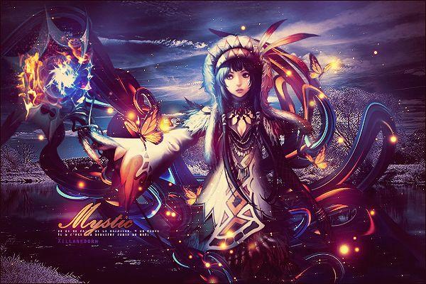 Mystic by XillaReborn.deviantart.com on @DeviantArt