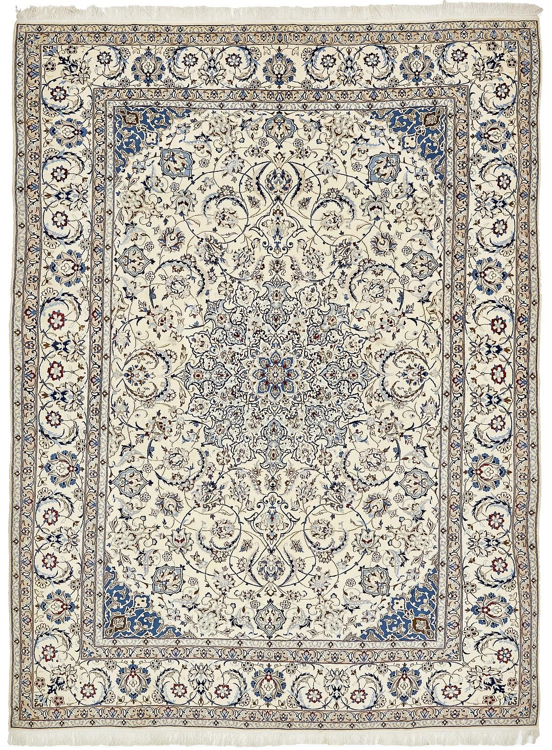 Cream 9 11 X 13 7 Nain Persian Rug Persian Rugs Handknotted Com Rugs Persian Rug Large Area Rugs